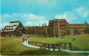 Old Faithful Inn Yellowstone National Park, Wyoming WY PC