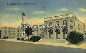 Central High School Charlotte NC 1943