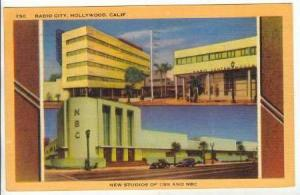 New Studios of CBS and NBC, Radio City, Hollywood, California, PU-1949