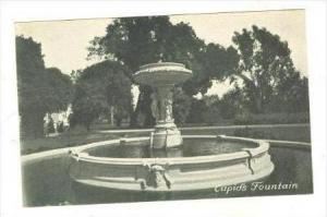 Cupid's Fountain, The PENINSULA Hotel, San Mateo, California, 30-50s