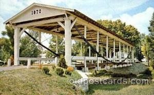 Germantown, Ohio, USA Covered Bridge Bridges, Postcard Post Card  Germantown,...