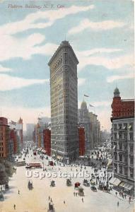 Flatiron Building New York City NY 1909