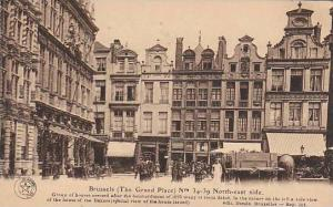 The Grand Place, 34-39 North-East Side, Brussels, Belgium, 1900-1910s
