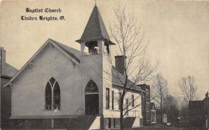 C2/ Linden Heights Columbus Ohio Postcard Baptist Church Building  c1910