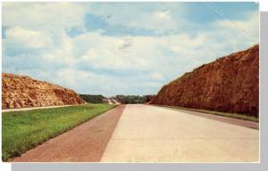 Ohio/OH Postcard, Scenic Of Ohio's 241 Mile Turnpike