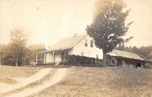 Stratton Maine~Eusts Ridge Gift Shop~99 Tolman Street~Vintage RPPC Postcard