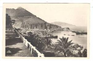 RP, Promenade De Letang Et Le Port, Oran, Algeria, Africa, PU-1949