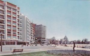 Rambla Sobre La Playa Pocitos, Montevideo, Uruguay, 1940-1960s