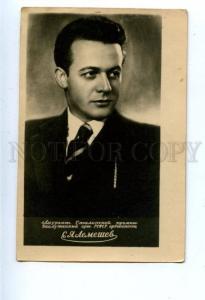 159848 LEMESHEV Russian OPERA Singer TENOR Vintage PHOTO