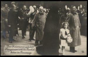 Austria WWI Kaiser Karl Franz Joseph Funeral Zita Otto  RPPC 65698