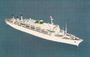 Aerial View, Passenger Liner, Moore-McCormack Lines, 40-60's
