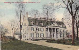 Home of George Eastman - Rochester, New York - pm 1913 - DB