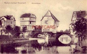 Germany. RADIUM-SOLBAD KREUZNACH - BRUCKENHAUSER