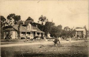 CPA ANTSIRABE Villas de lastelle et Alexander MADAGASCAR (709641)