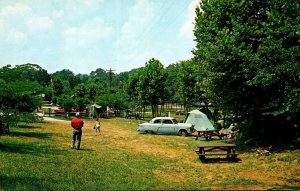 Kentucky Burnside General Burnside State Park Camping Area