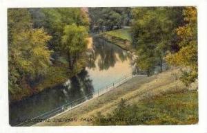 River Scene, Sherman Park, Sioux Falls, South Dakota, 1911 PU