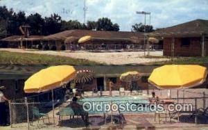 Traveler's Motel, Port Barre, LA, USA Motel Hotel Postcard Post Card Old Vint...