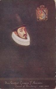 Spain Don Gaspar Zunega Y Acevedo Count Of Monterrey 1595-1603