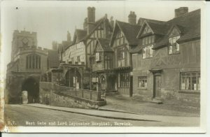 West Gate And Lord Leycester Hospital Warwick