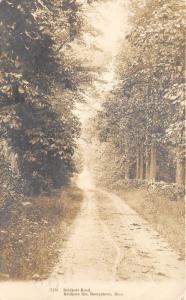 Georgetown Massachusetts~Baldpate Road @ Baldpate Inn~Vintage RPPC