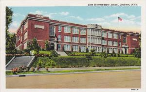 JACKSON, Michigan, 1930-1940's; East Intermediate School