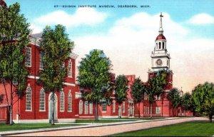 Michigan Dearborn Edison Imstitute Museum