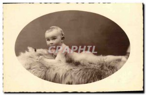 PHOTO CARD Gerard Fisher Child Bebe 1936