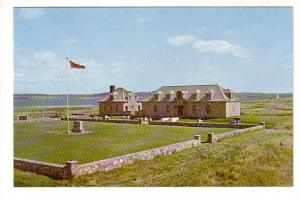 Fortress Louisbourg Cape Breton, Nova Scotia, Photo by Wood