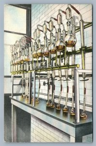 BUDWEISER BEER CHEMICAL LABORATORY ANTIQUE POSTCARD ST.LOUIS MO