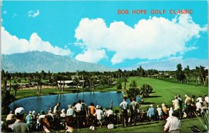 Bob Hope Golf Classic Palm Desert CA California Golfing Unused Postcard G2