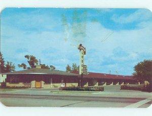 Pre-1980 LODGE MOTEL SCENE Colorado Springs Colorado CO AE0656