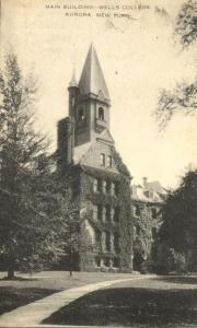 Main Building at Wells College - Aurora NY, New York - pm 1950