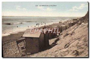 Postcard Old St Brevin L & # 39Ocean