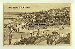 tp3409 - Pier Approach , Clacton-on-Sea , Essex - postcard