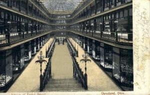 Interior of Euclid Arcade Cleveland OH 1906