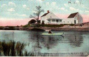 Maine Tristrim Goldtwaite House At Biddeford Pool 1910