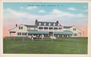 Kentucky Lexington Ashland Golf Club