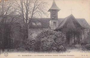 La Chapelle, Ancienne Maison Theodore Rousseau, Barbizon (Seine Et Marne), Fr...