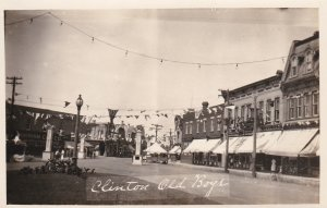 RP: Main Street & town square , OLD BOYS Reunion celebration , CLINTON , On...