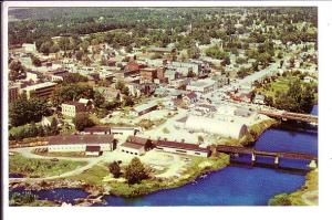 Aerial View, Parry Sound, Ontario,