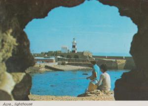 Acre Lighthouse Isreal Israeli Postcard