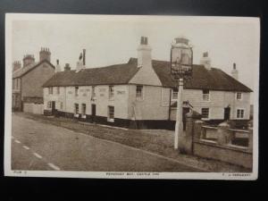 De L'Est Sussex : Pevensey Bay, le Château Inn - Bar Pub par Photo F. U.Sergent