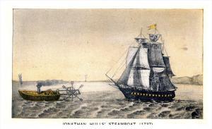 10431   Hudson-Fulton   Jnathan Hull's  Steamboat