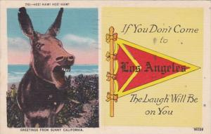 California Los Angeles If You Don't Come 1945 Pennant Series