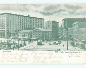 Pre-1907 MARKET SQUARE Providence Rhode Island RI n6539