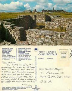 Fortress of Louisbourg National Historic Park, Nova Scotia, Canada, ???? Chrome