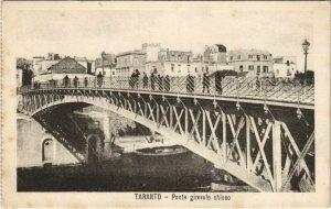 CPA Taranto Ponte girevele chiuso ITALY (809002)