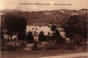 CPA Saint Didier au Mont D'or - Chateau de Saint André (573330)
