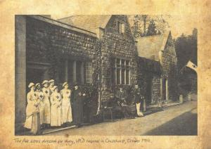 Repro 1914 Postcard, WW1 The Pole Sisters VAD Hospital, Chislehurst, London 78T