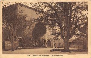B20210 Bulle Chateau de Gruyeres Cour Eterieure switzerland